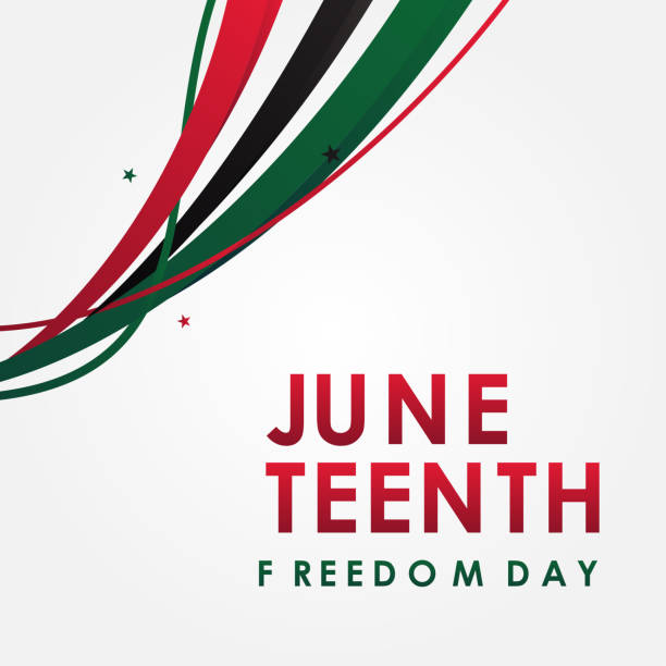 Juneteenth Freedom Day Vector Design Illustration For Celebrate Moment vector art illustration