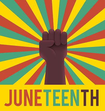 Juneteenth Holiday Raised Fist