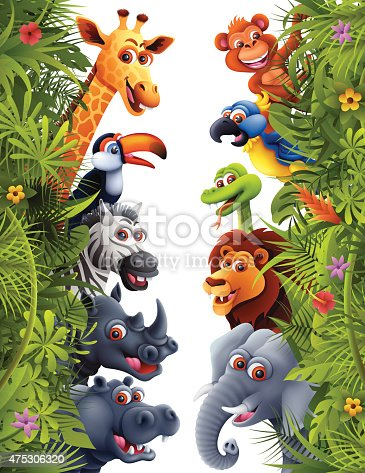 istock Jungle Animals 475306320