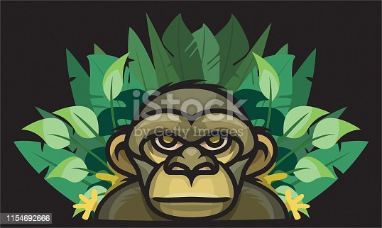 istock Jungle Chimp 1154692666