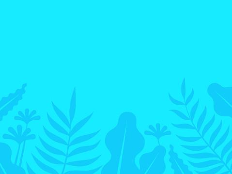 Jungle Plants Background