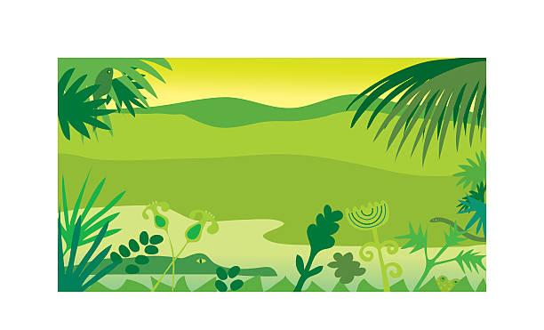 ilustrações, clipart, desenhos animados e ícones de jungle - manaus