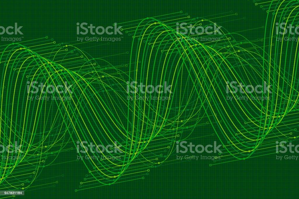 Jungle vector sine wave graph pattern horizontal stock vector art jungle vector sine wave graph pattern horizontal royalty free jungle vector sine wave graph pattern ccuart Images