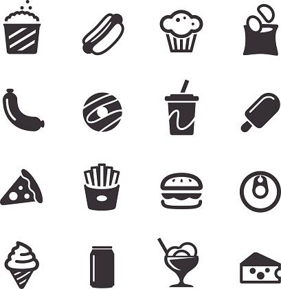 Junk Food Icons - Acme Series