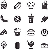 Junk Food Icons - Acme Series