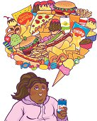 Junk Food Thoughts Black Girl