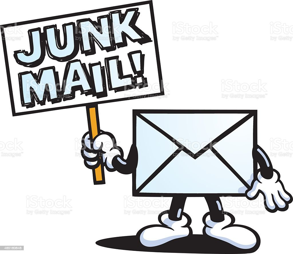 Junk Mail Stock Vector Art & More Images Of 2015 485160648