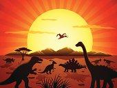 Jurassic Scene