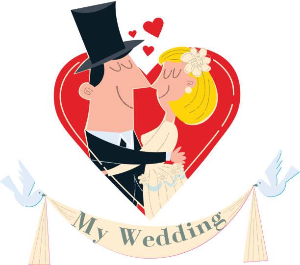 Best Cartoon Of The Wedding Anniversary Illustrations