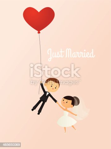 istock Just Married 465650069