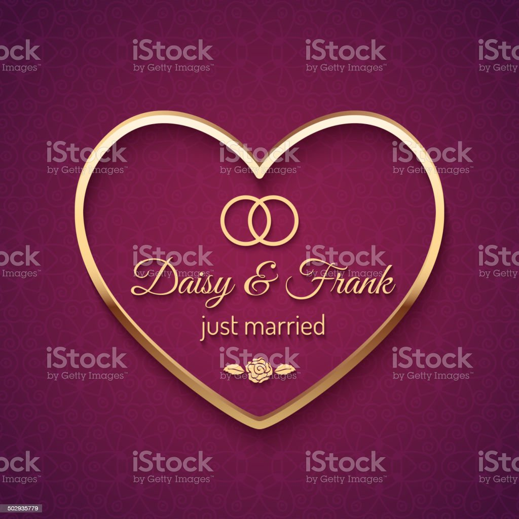 Just Married Wedding Sign royalty-free just married wedding sign stock vector art & more images of art