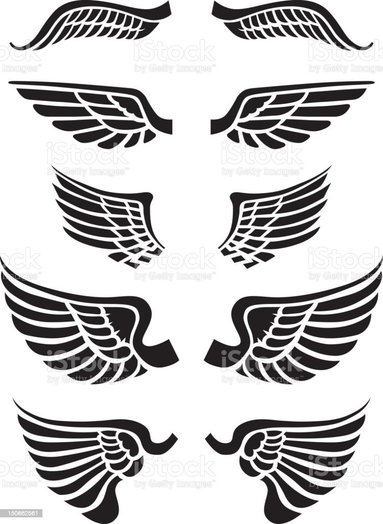 just wings stock vector art  u0026 more images of aircraft wing