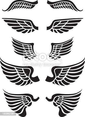 istock Just wings 150862561