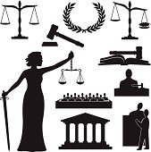 Justice Silhouette
