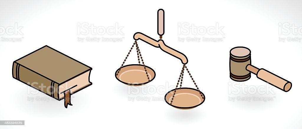 justice royalty-free stock vector art