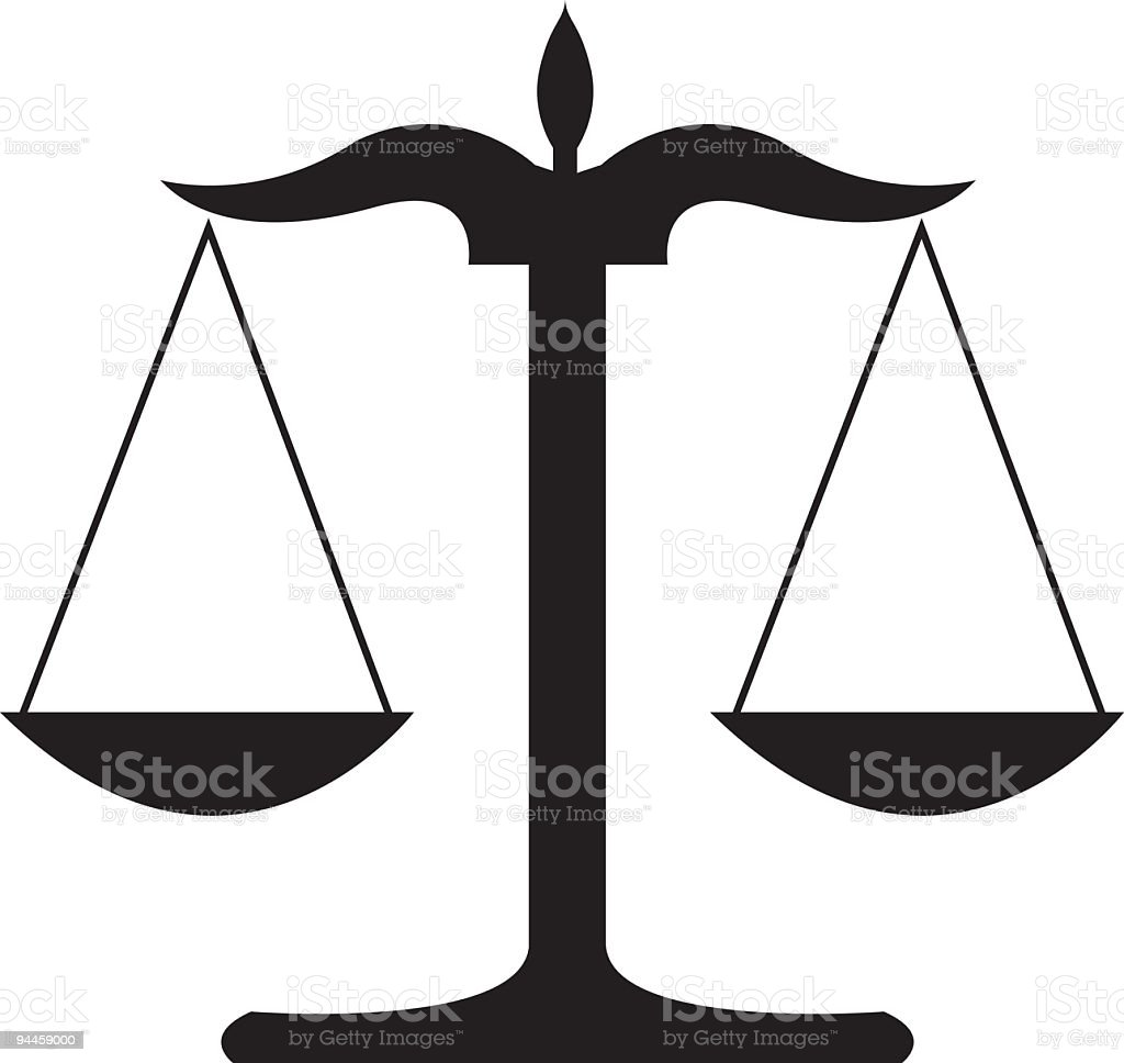 Justice royalty-free justice stock vector art & more images of black and white