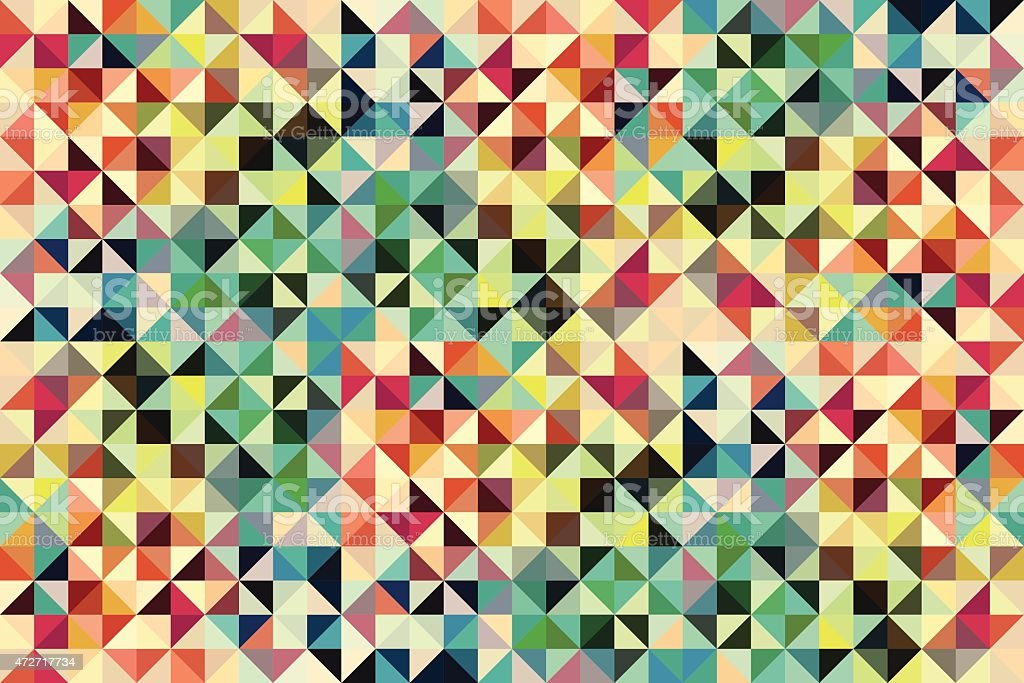 Kaleidoscope vector pastel coloured background vector art illustration