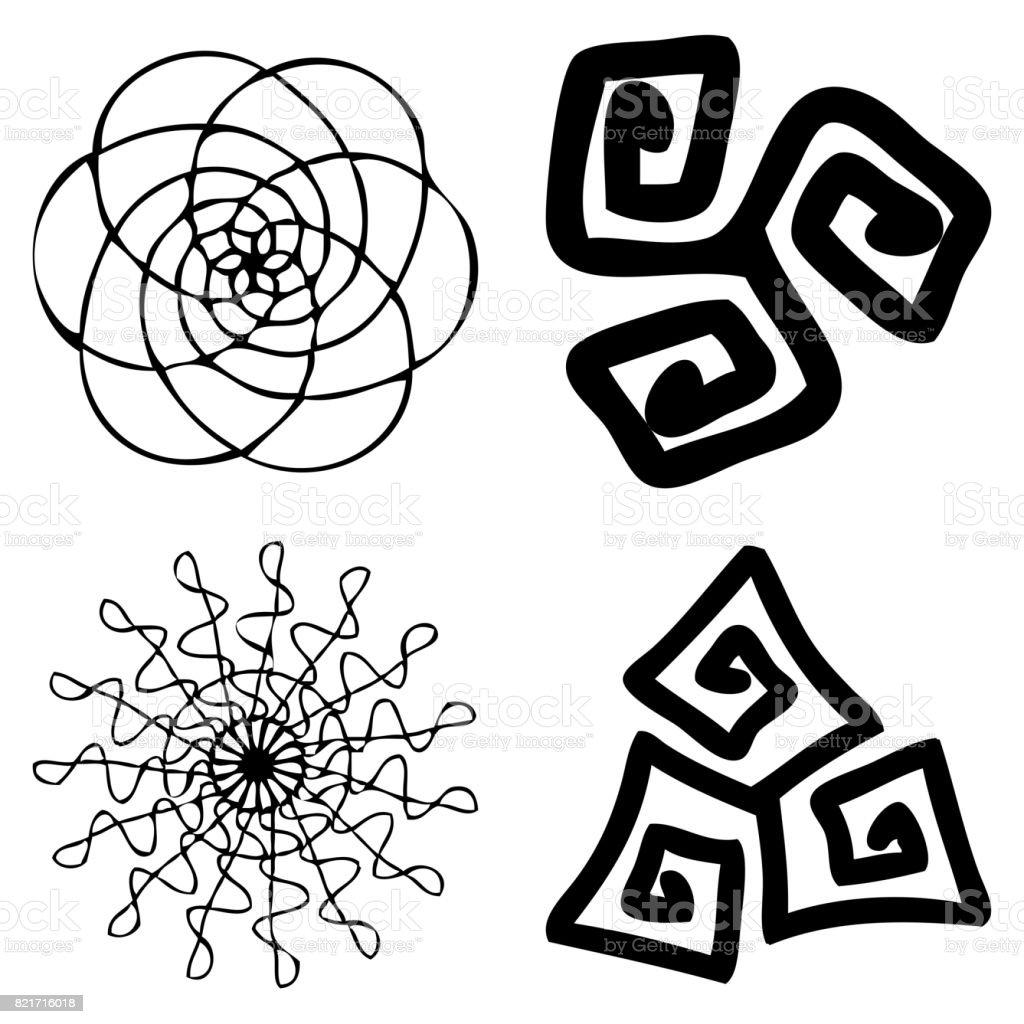 Kaleidoscopic Mandala Inspired Diwali Om Symmetric Indian Symbol