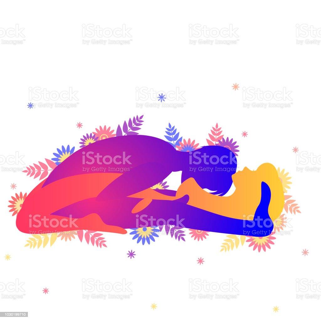 Kamasutra sexual representan el arco de triunfo. ilustración de kamasutra  sexual representan el arco de
