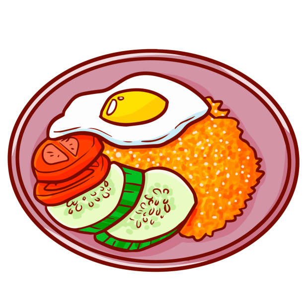 Nasi Goreng Illustrations, Royalty-Free Vector Graphics & Clip Art - iStock