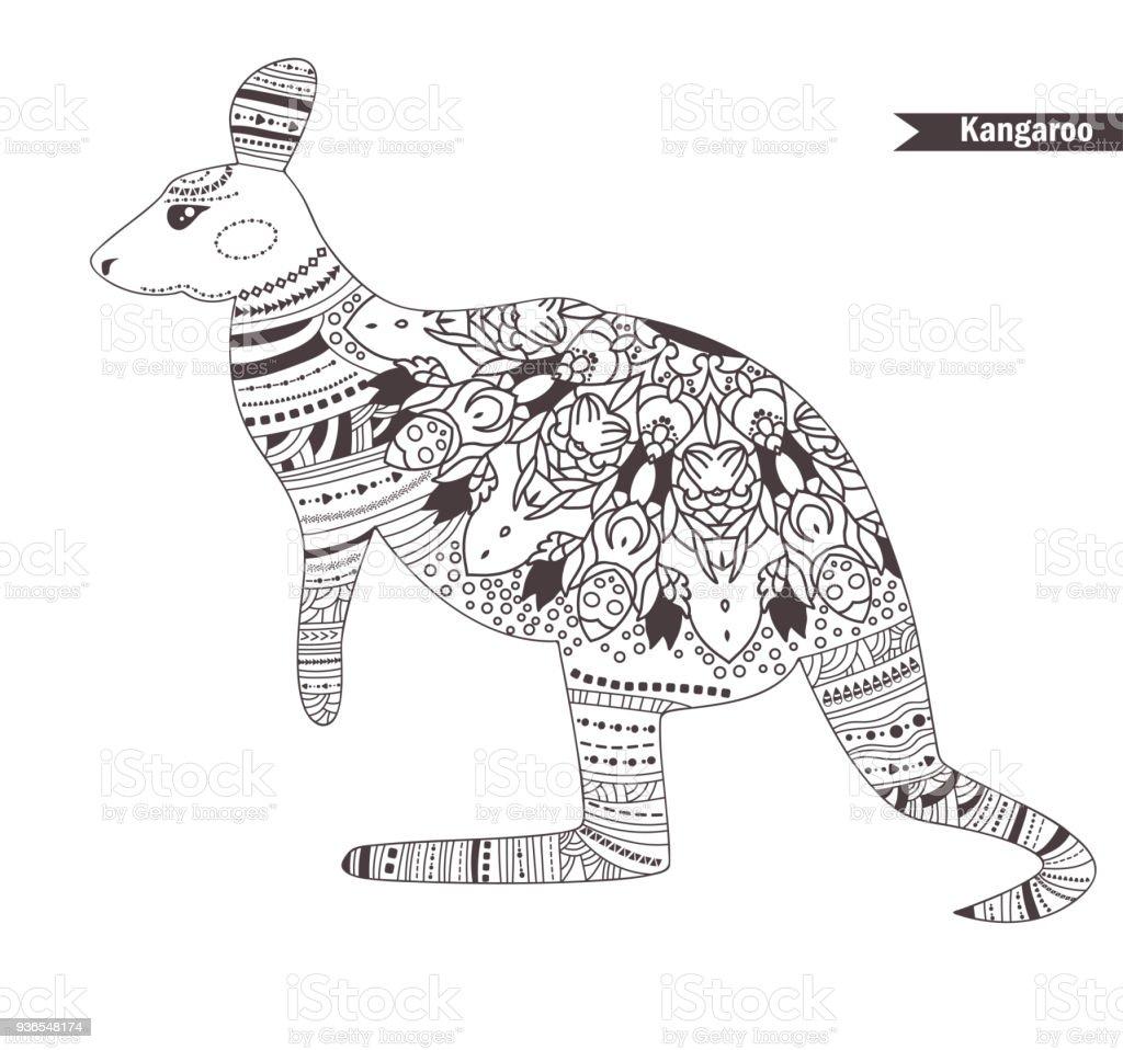 Hermosa Dibujo De Rata Canguro Para Colorear Ideas - Ideas Para ...
