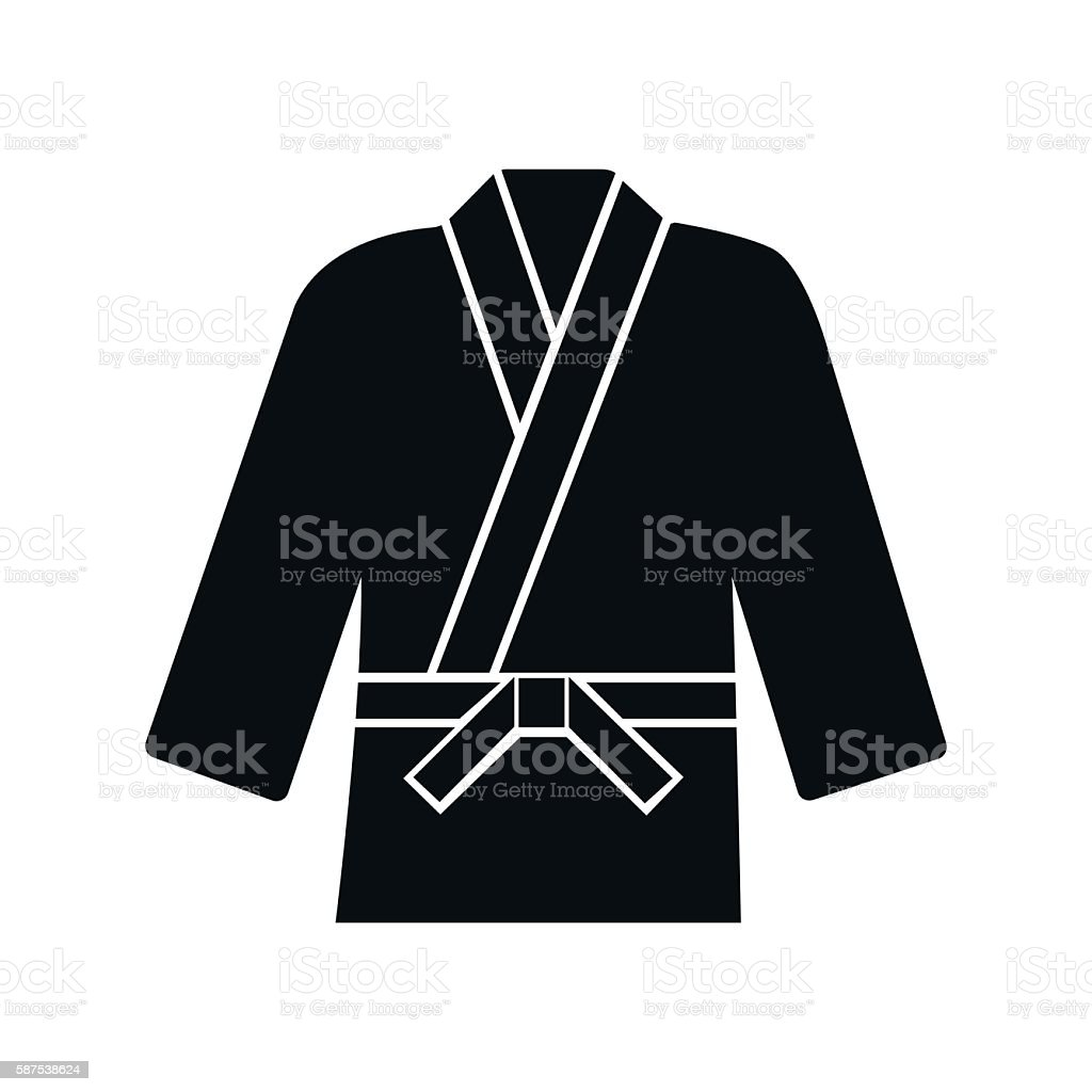 royalty free jiujitsu clip art vector images illustrations istock rh istockphoto com jiu jitsu belt clipart