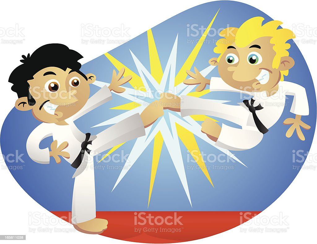 Karate royalty-free karate stock vector art & more images of beauty