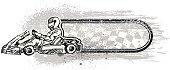 karting banner