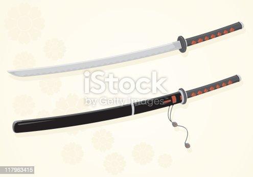 istock Katana Sword 117963415