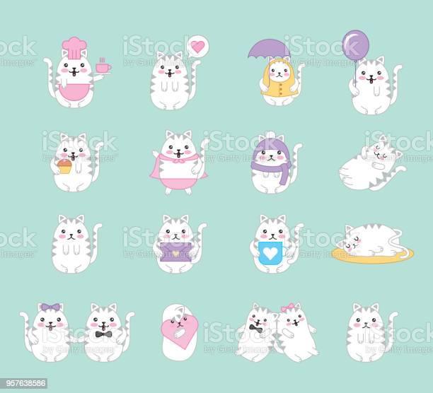 Kawaii animal cartoon vector id957638586?b=1&k=6&m=957638586&s=612x612&h=ywpecdykvqhdzp7e8 bulocefmllh 9ibvie6kdxvy4=
