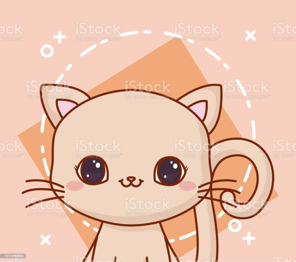 Image of: Cute Kawaii Kawaii Animals Design Illustration Istock Kawaii Animals Design Stock Vector Art More Images Of Animal