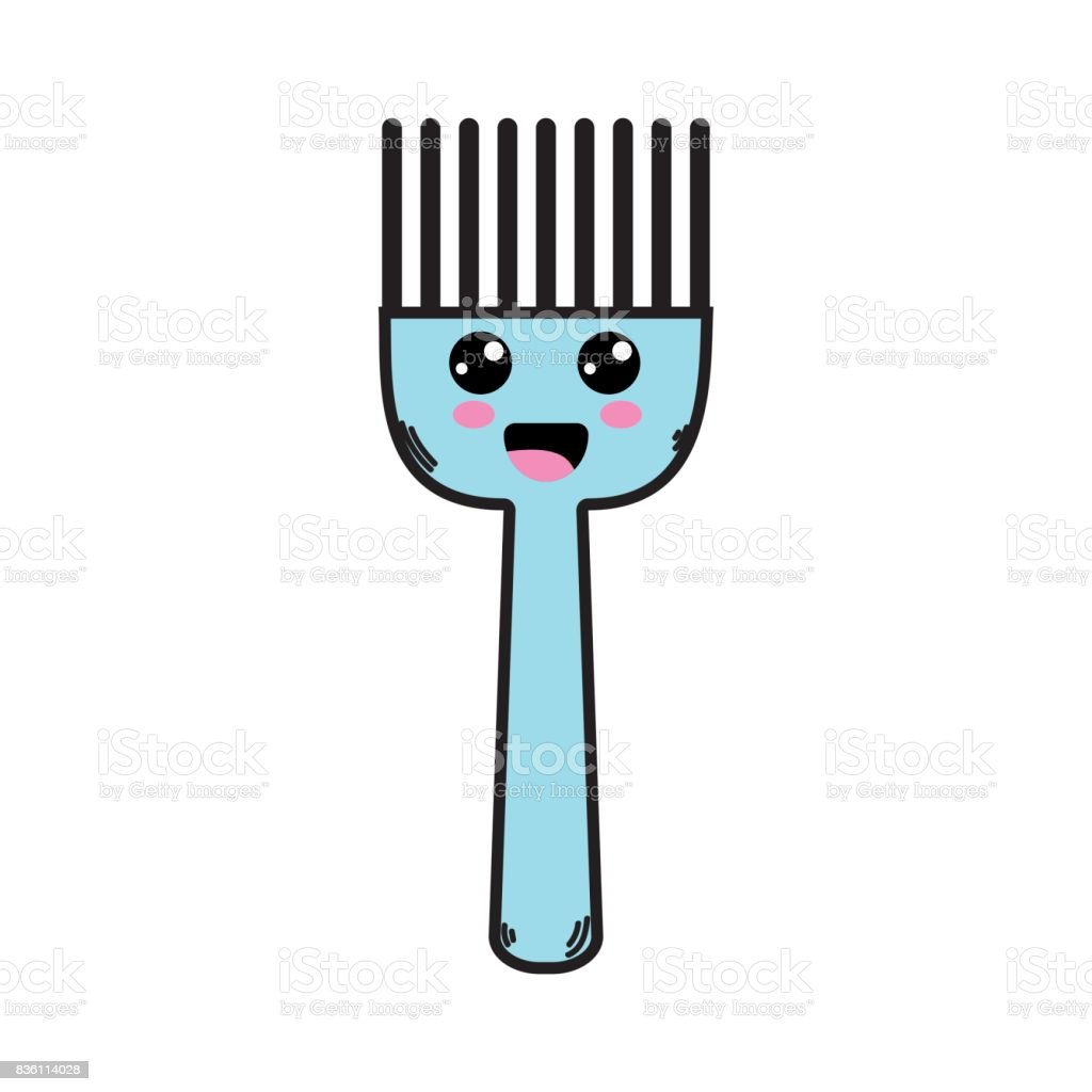Kawaii Cute Happy Kitchen Utensil stock vector art 836114028 | iStock