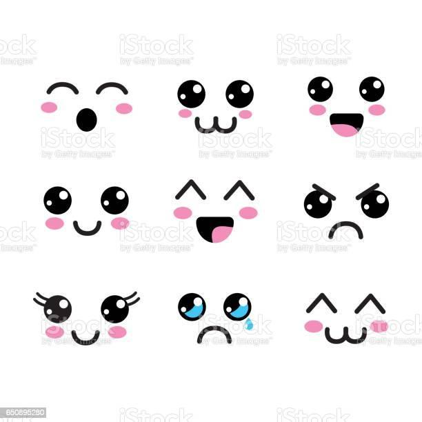 Kawaii faces eyes icon vector id650895280?b=1&k=6&m=650895280&s=612x612&h=rqb5zoxfc djrklqszprgi8ocasdindkh1onfmru938=