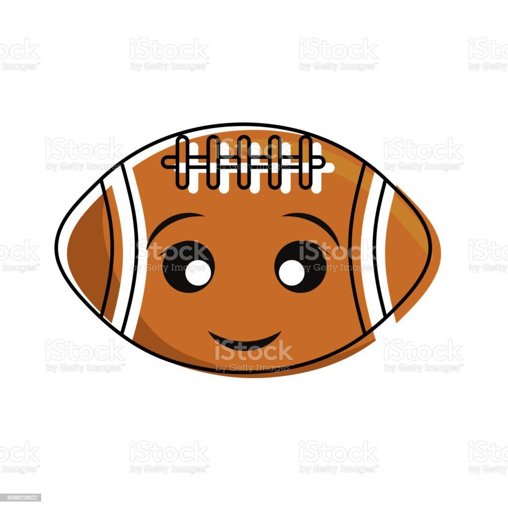 Conception De Football Kawaii Vecteurs Libres De Droits Et
