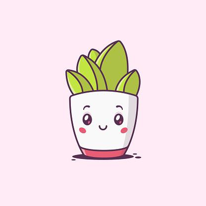 Kawaii Succulent