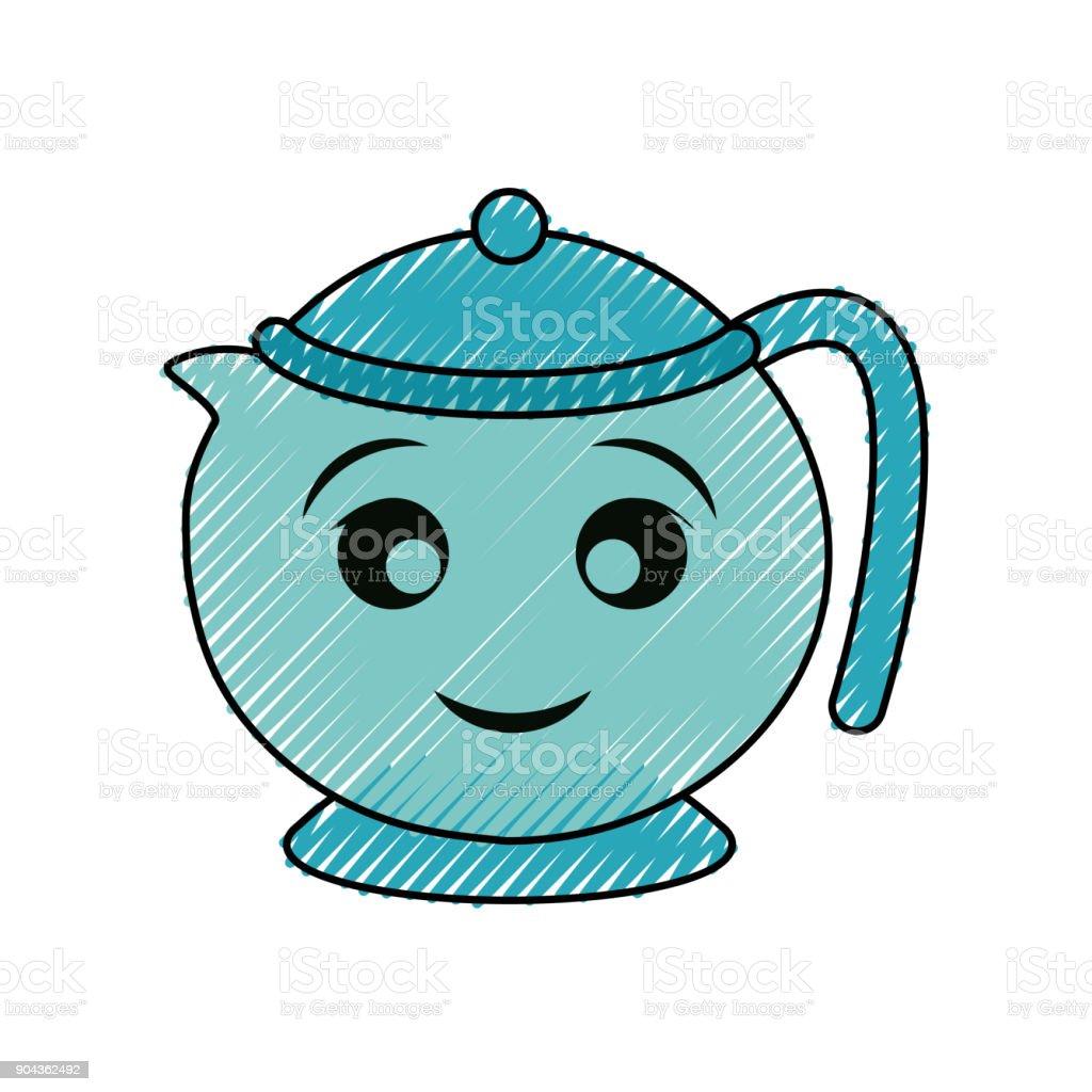 royalty free tea kettle steam clip art vector images rh istockphoto com