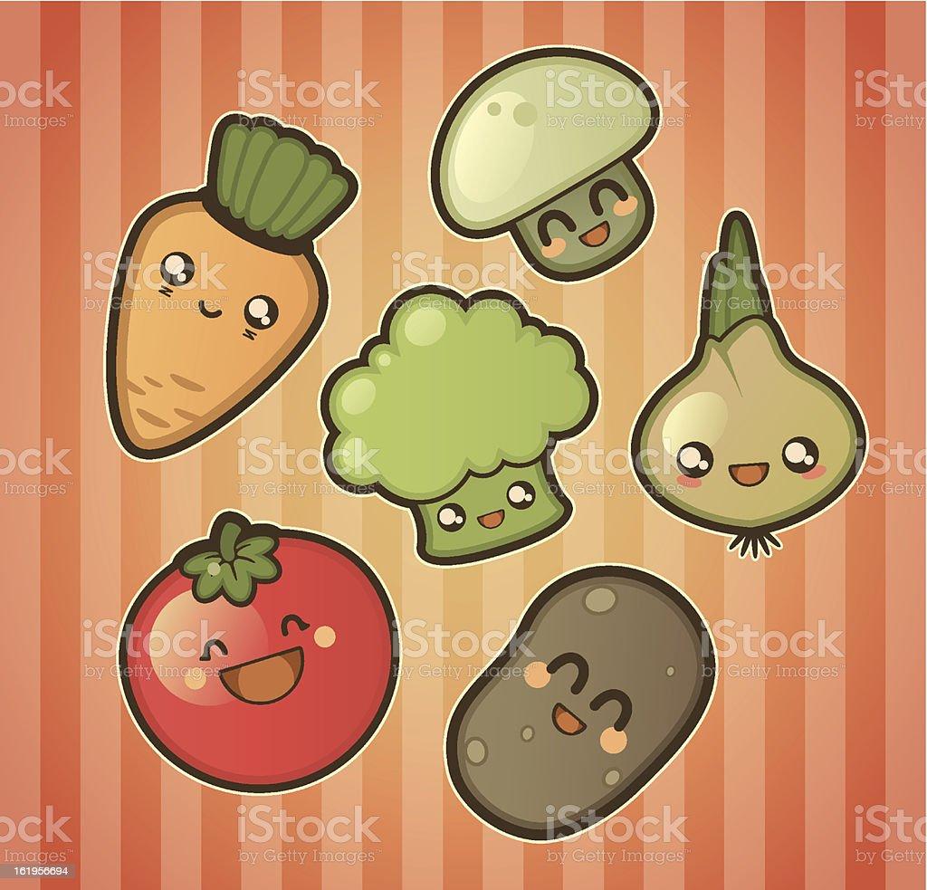 かわいい野菜 - イモ類のベクターアート素材や画像を多数ご用意