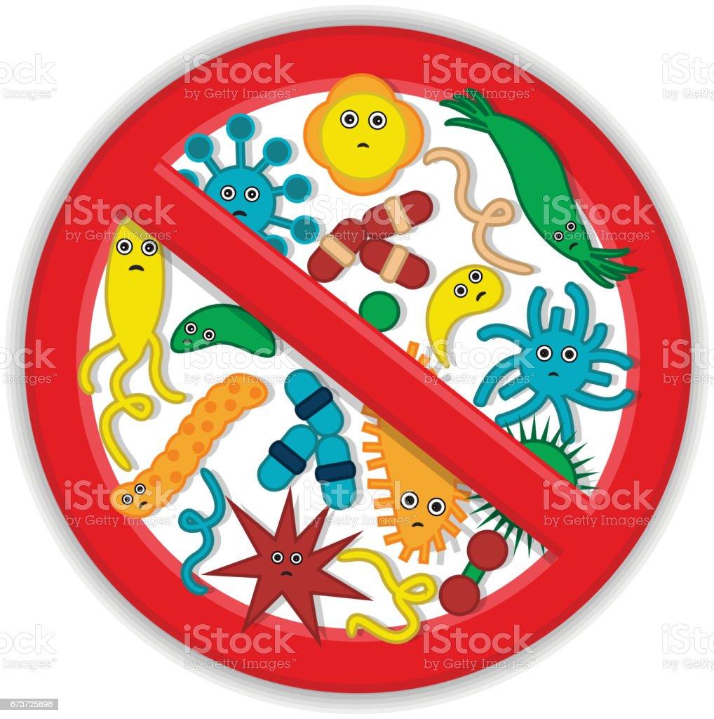 Garder propre partout garder propre partout – cliparts vectoriels et plus d'images de agent pathogène libre de droits