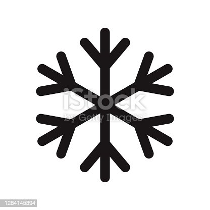istock Keep Frozen Icon on Transparent Background 1284145394