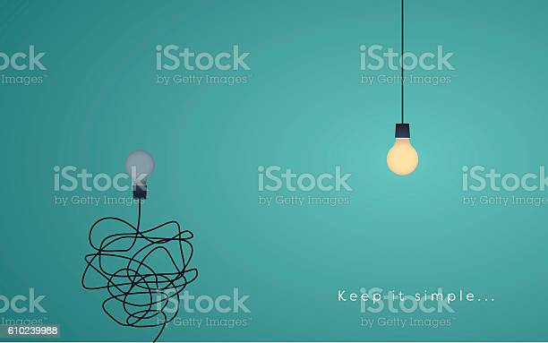 Keep it simple business concept for marketing creativity project vector id610239988?b=1&k=6&m=610239988&s=612x612&h=xpauz9hfljvvccjbwxwh2ijk3aer hki7dw1t 2glbm=