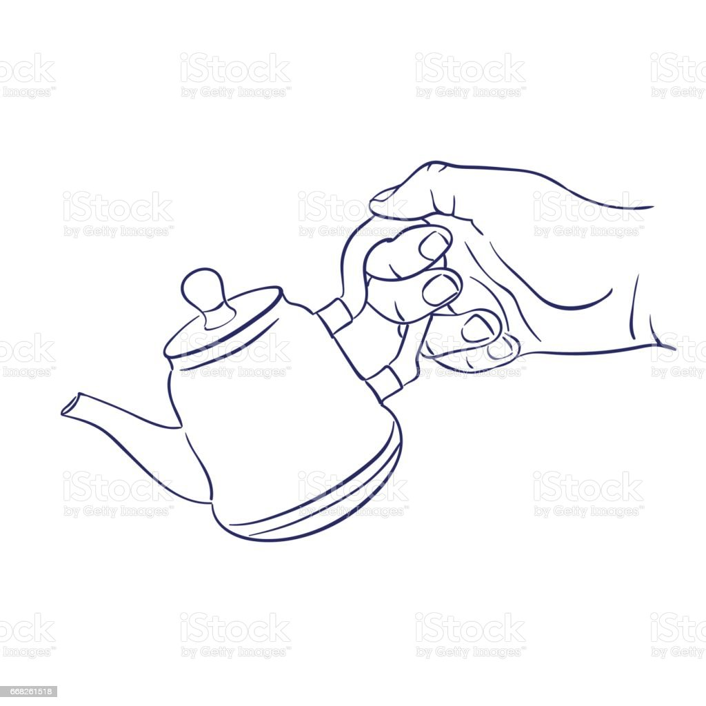 keep teapot in hand keep teapot in hand - immagini vettoriali stock e altre immagini di bielorussia royalty-free