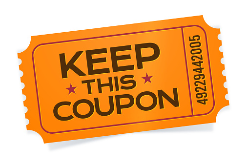 Keep This Coupon Ticket