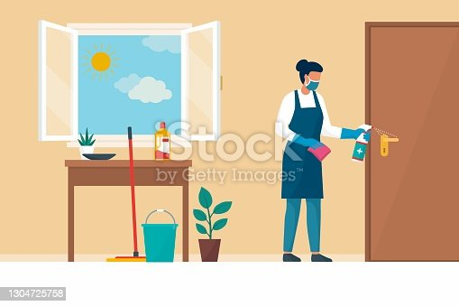 istock Keep your home safe and clean during the coronavirus pandemic 1304725758