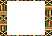 Kente Cloth Frame C