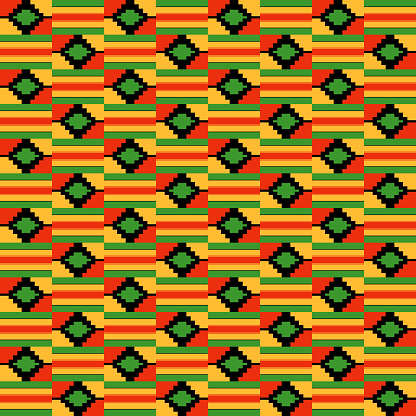 Kente Cloth Clipart Free Download