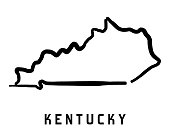 Kentucky map