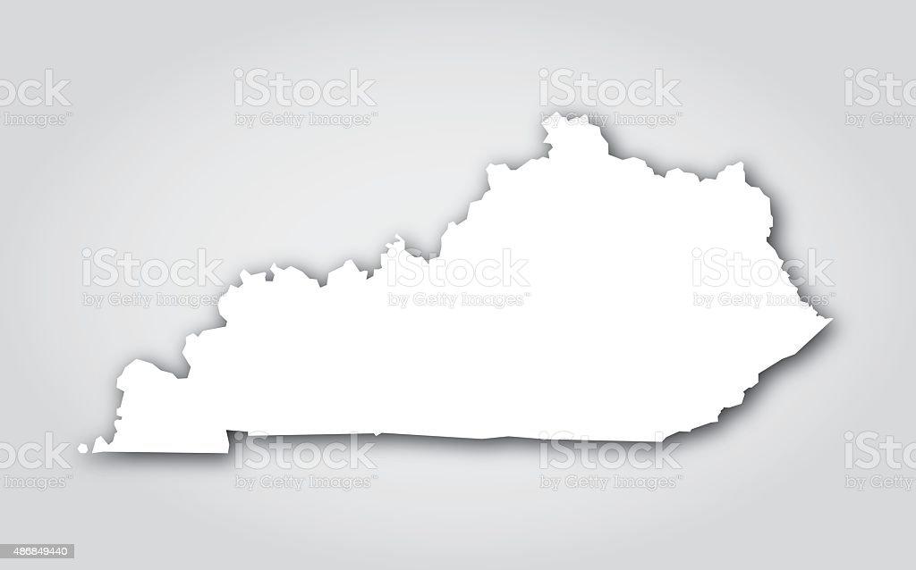 Kentucky Silhouette White