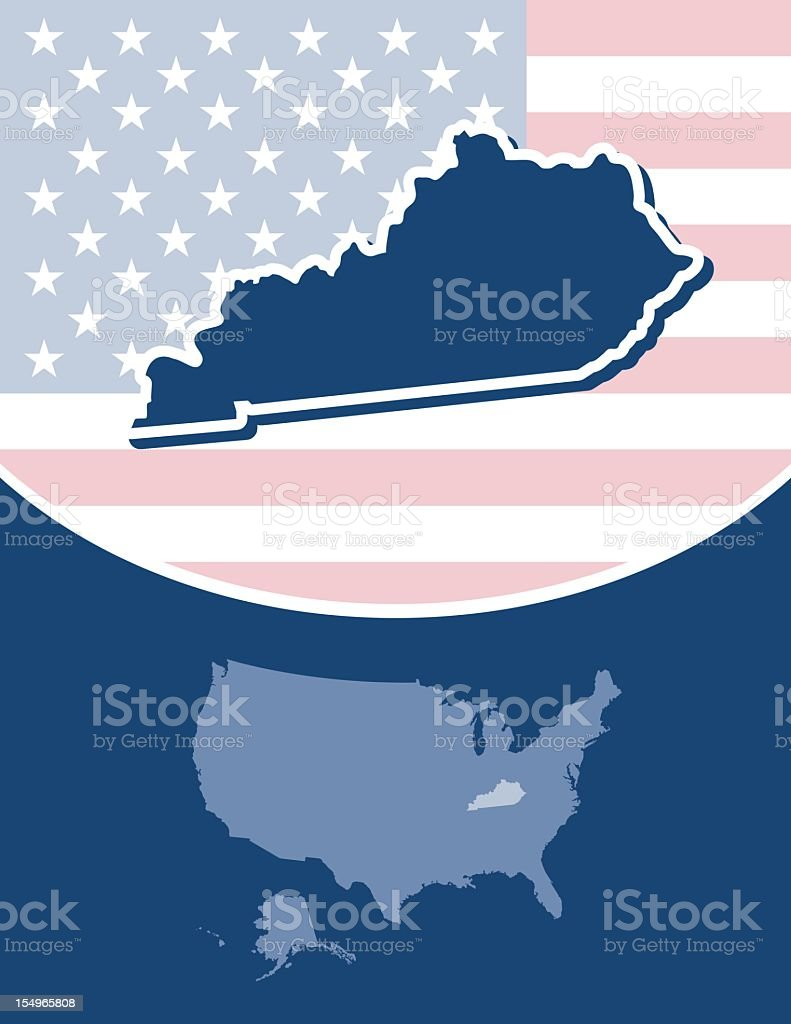 Kentucky state series royalty-free kentucky state series stock vector art & more images of blue