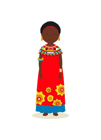 Kenyan national costume for women