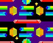 Kesshō, crystals background pattern
